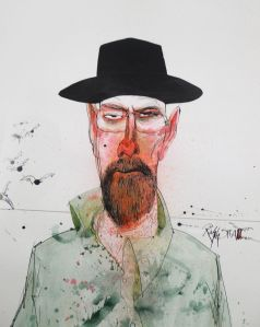 2014+50 Breaking Bad Ralph Steadman2