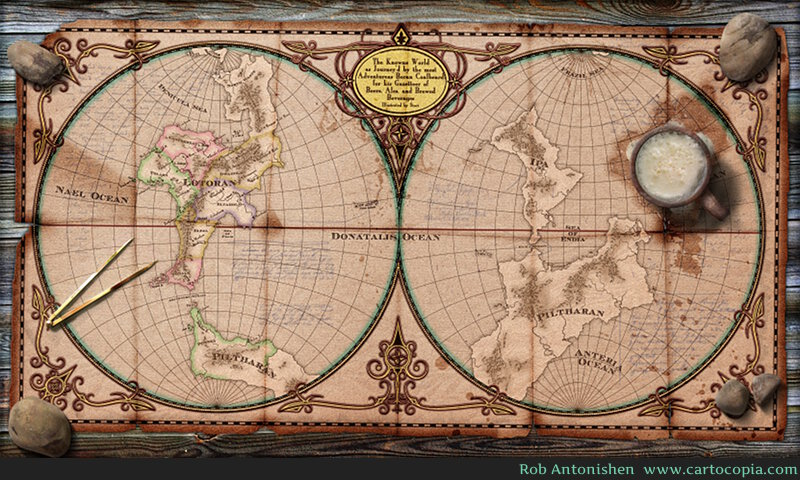 How To Create A Fictional World Map.How To Create A Fictional World Bear Skin Digital