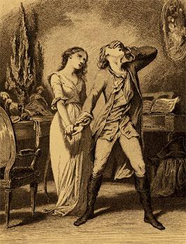 Image result for werther had a love for charlotte