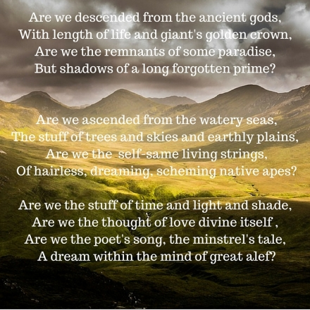 Are we...-